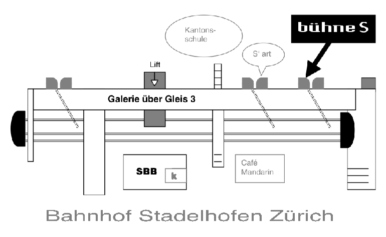 Situationsplan Bühne S